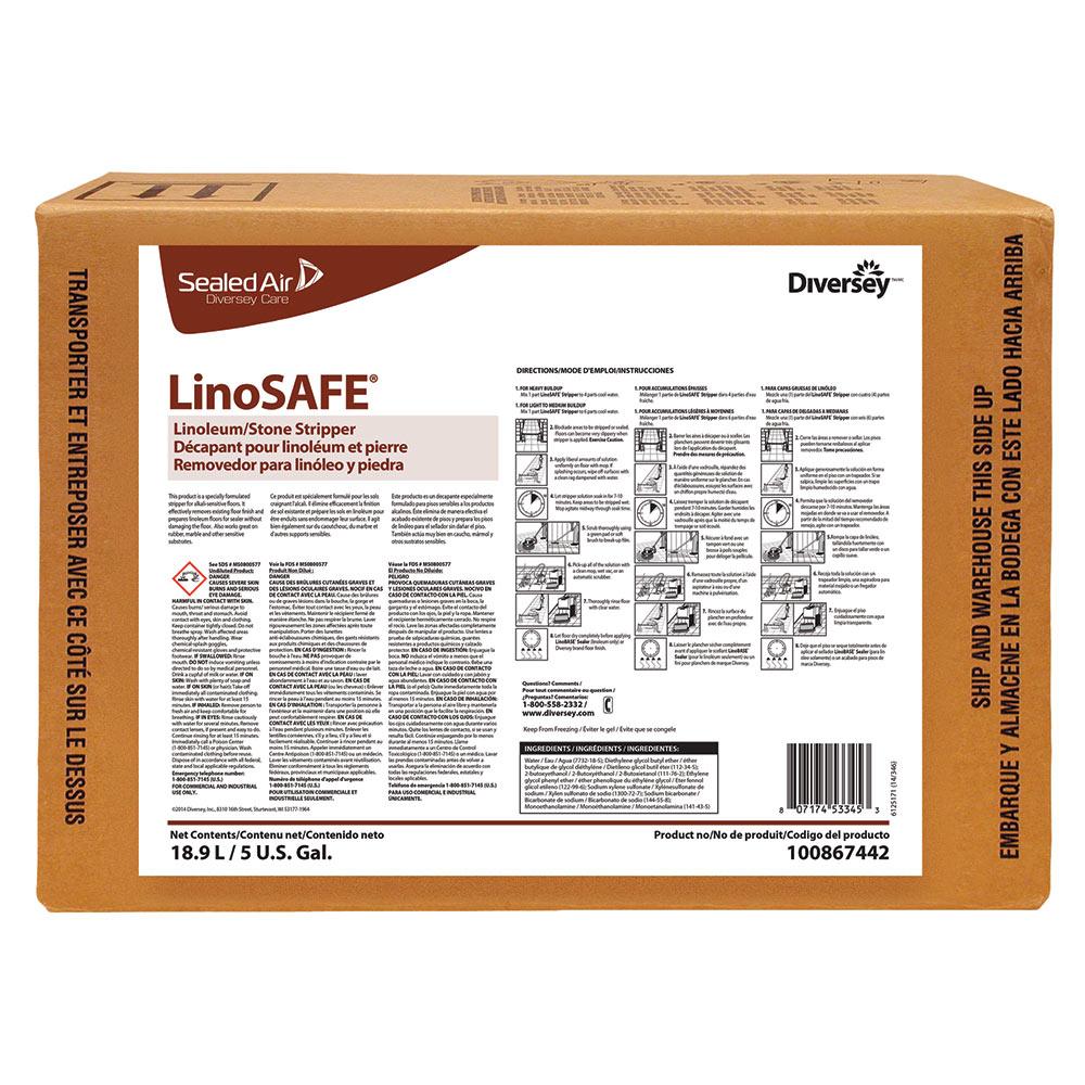Linosafe – Décapant pour plancher de Linoleum