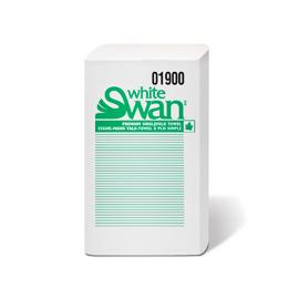 Essuie-mains à pli simple, White Swan (16 x 250 feuilles) – 1900