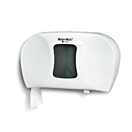 Distributrice de papier hygiénique, blanc/gris, Mini-Max – 9659