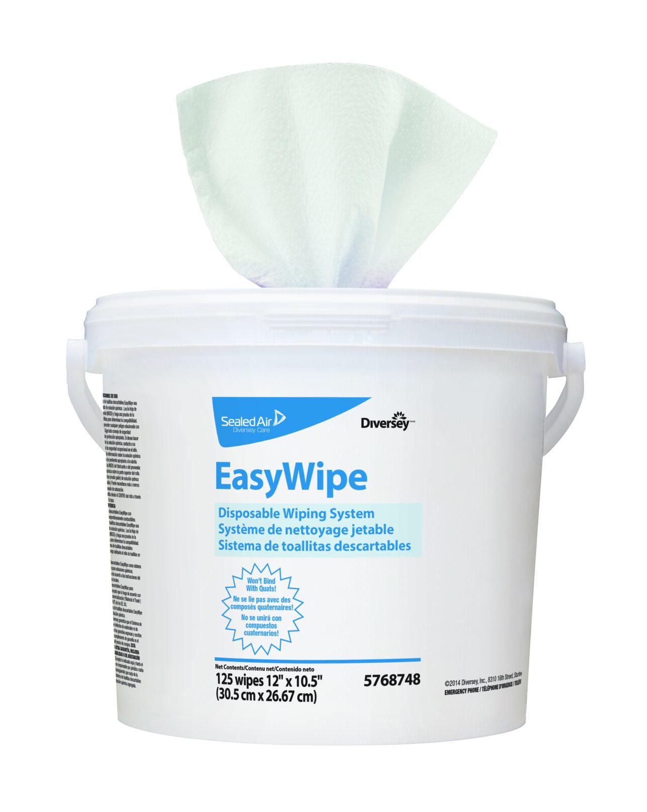 Easywipe – Systèm de Lingette nettoyante