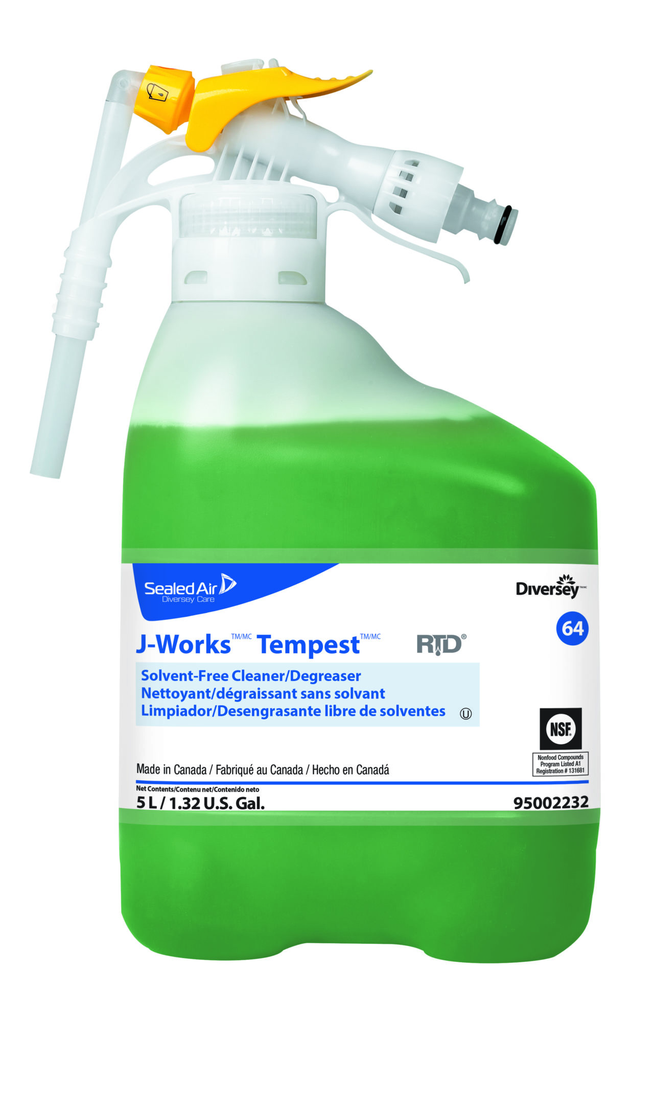 J-Works Tempest- Dégraissant sans solvant