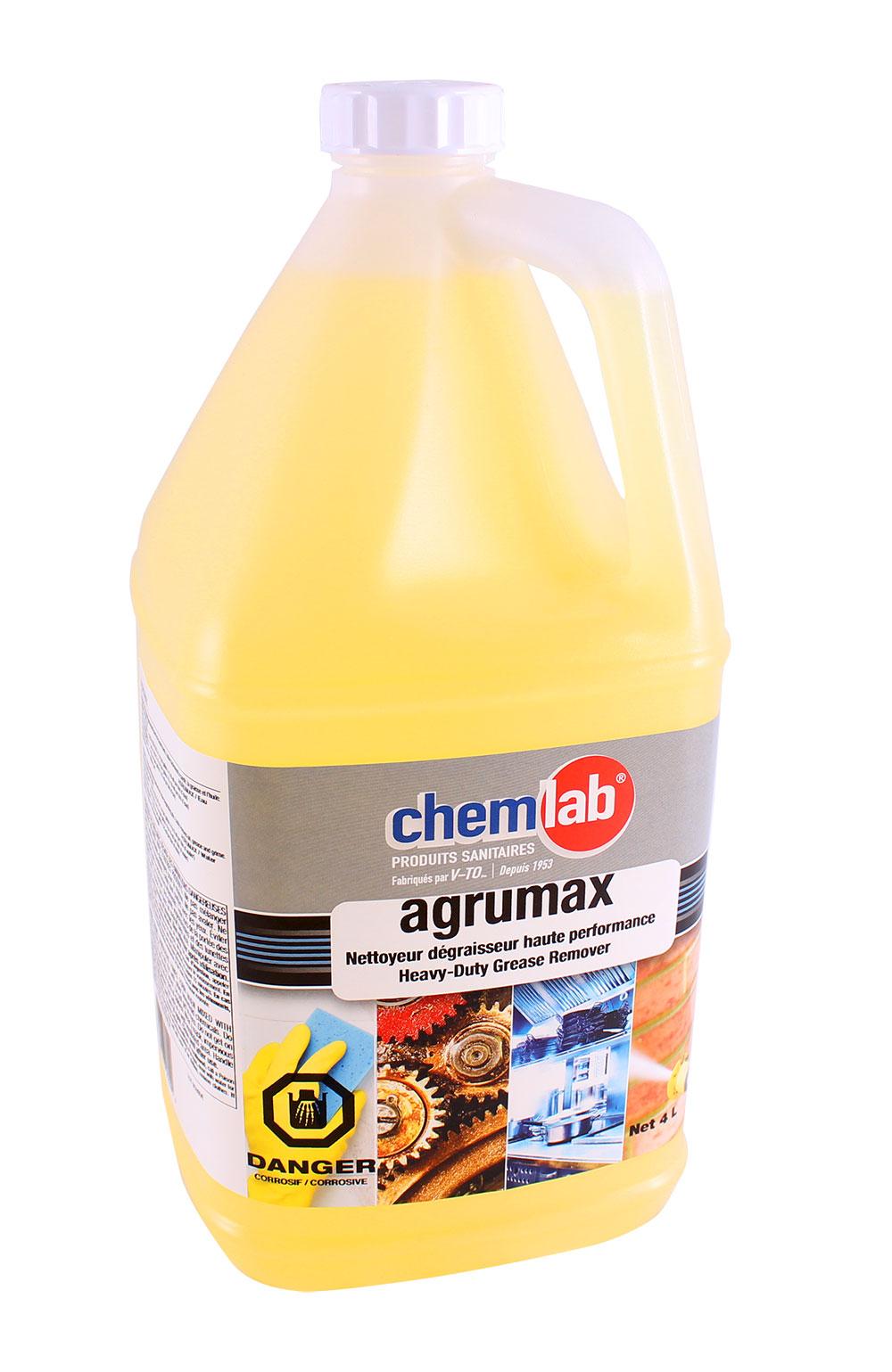 Agrumax – Dégraissant odeur d'agrume