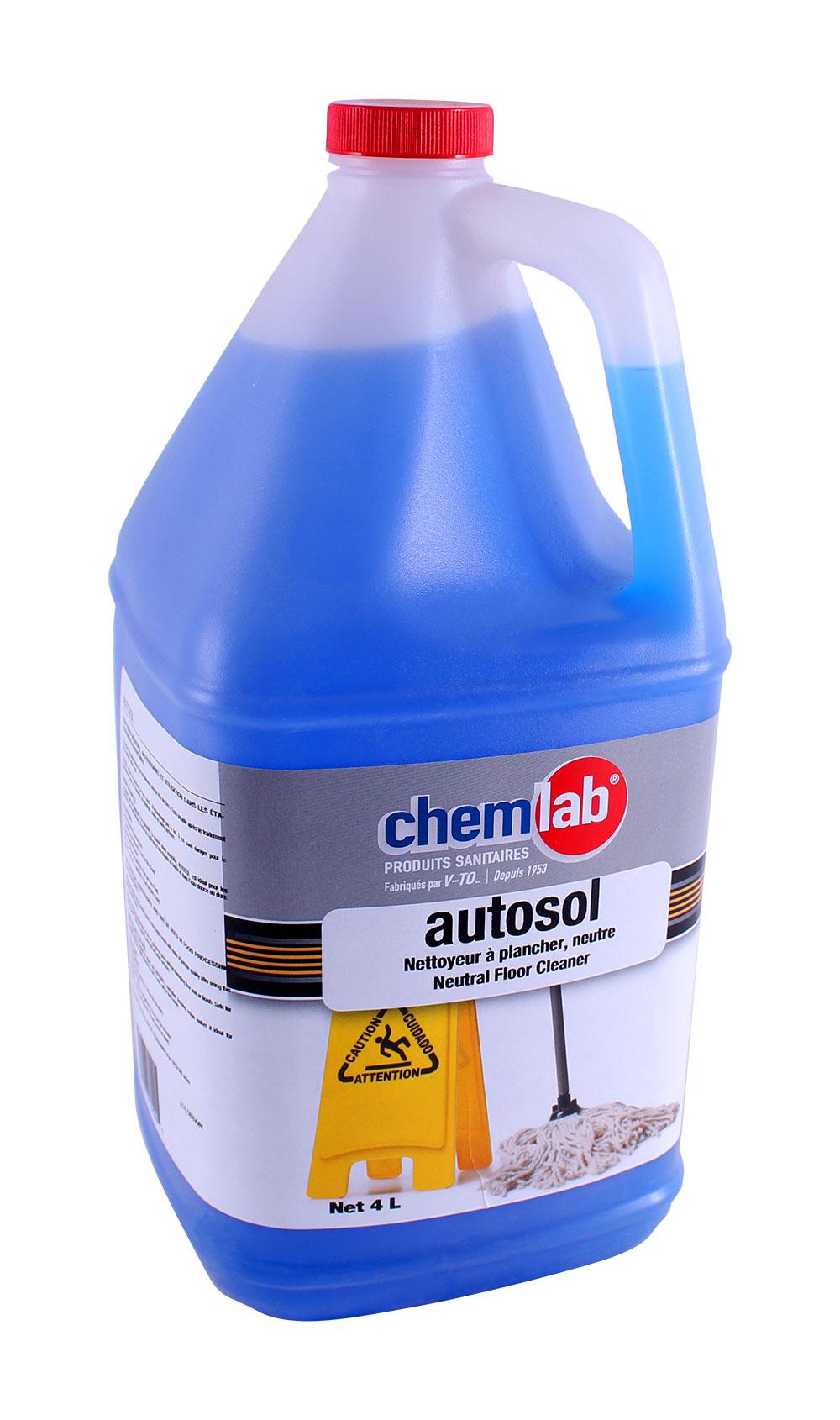 Autosol – Détergent neutre à plancher – Biodégradable