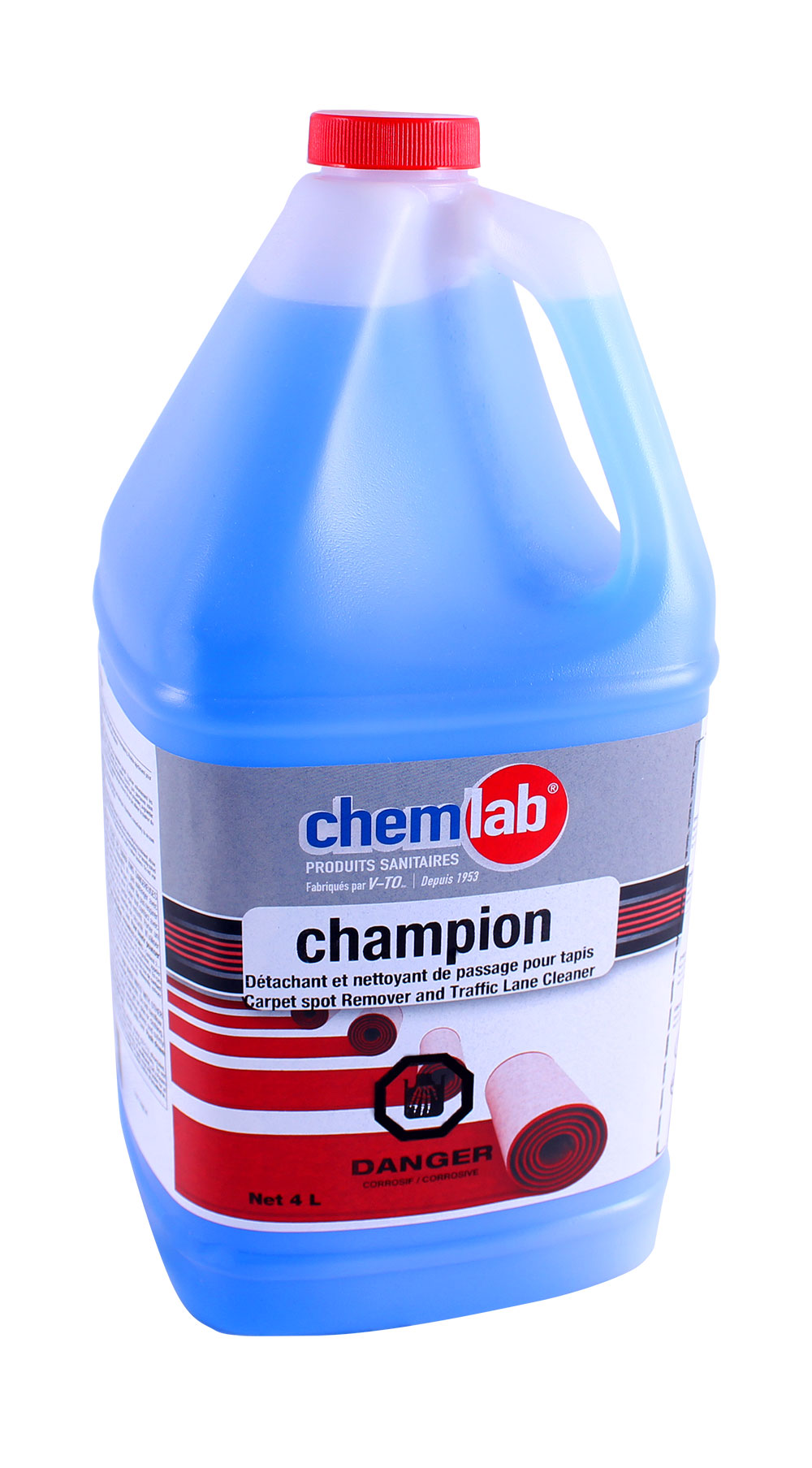 Champion – Pré-détachant à tapis