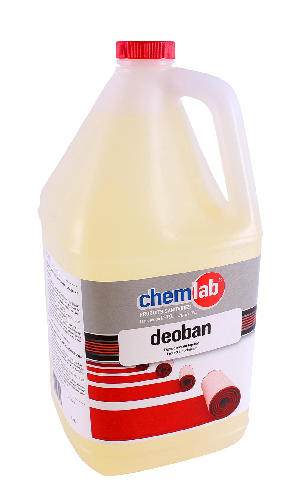 Déoban – Désodorisant liquide biodégradable