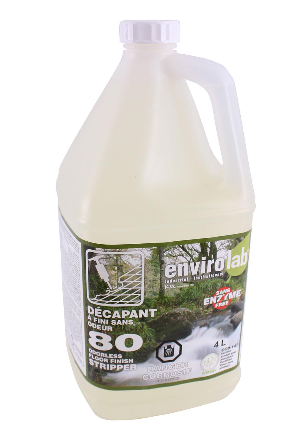 Envirolab 80 – Décapant à plancher, biodégradable