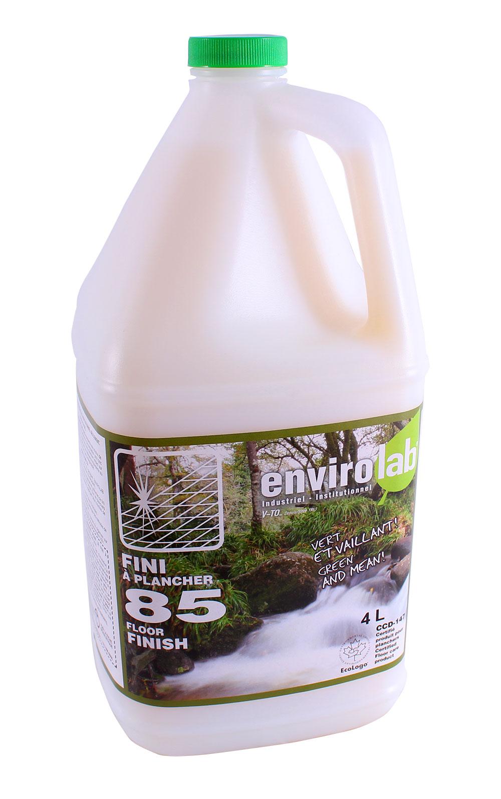 Envirolab 85 – Fini à plancher écologique (Conc. 25%), biodégradable