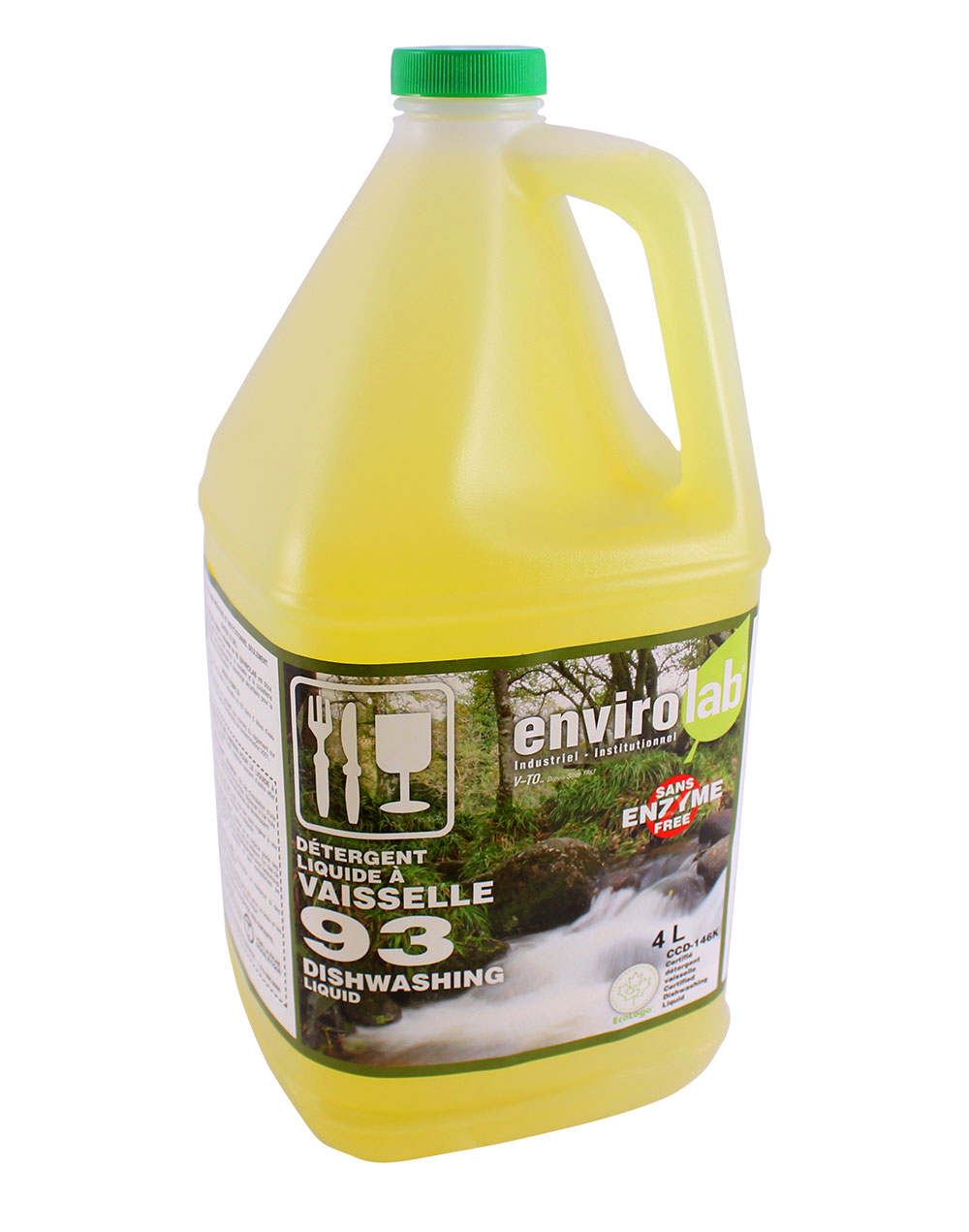 Envirolab 93 – Savon à vaisselle, biodégradable