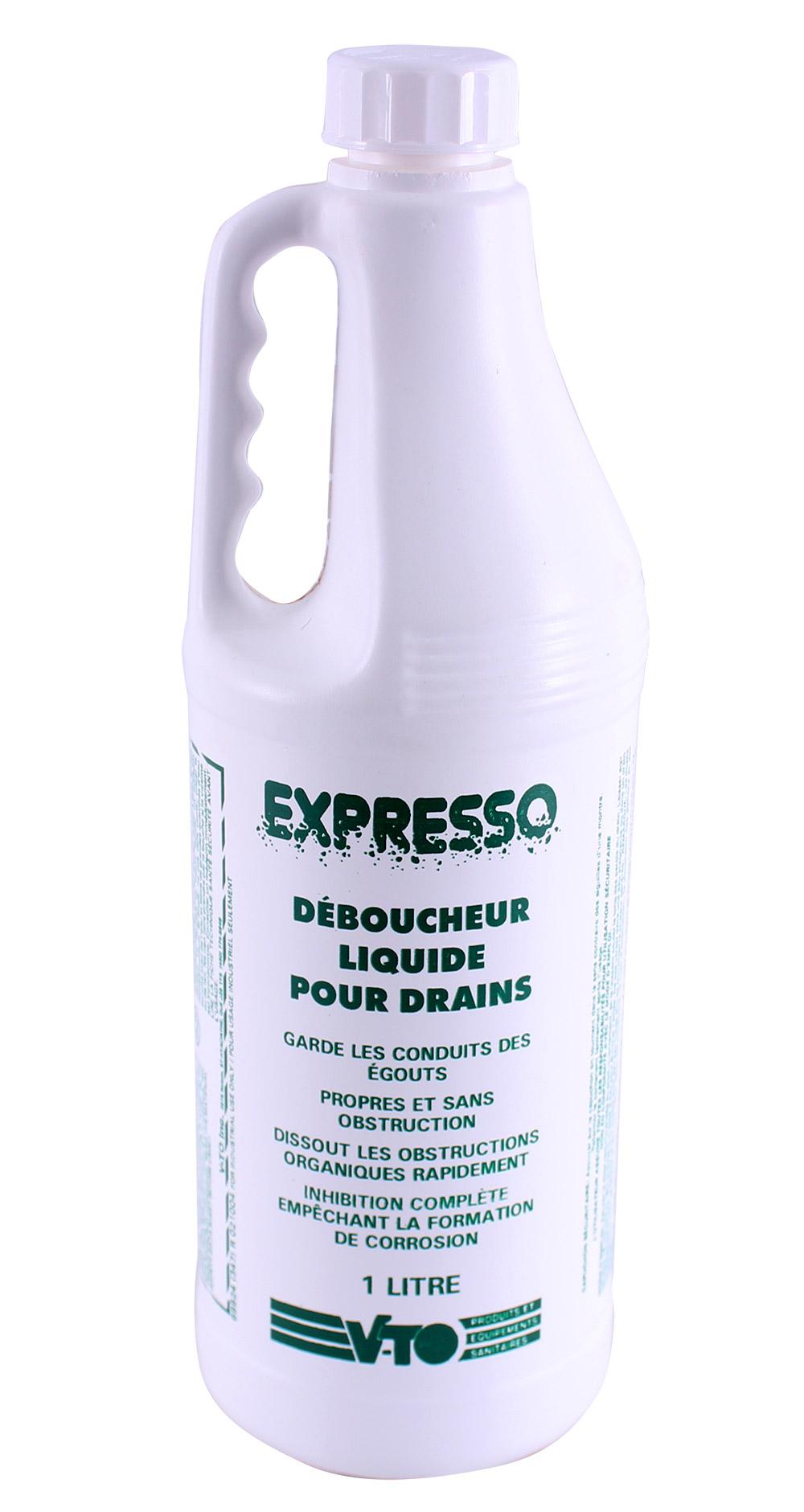 Expresso – Déboucheur pour drains