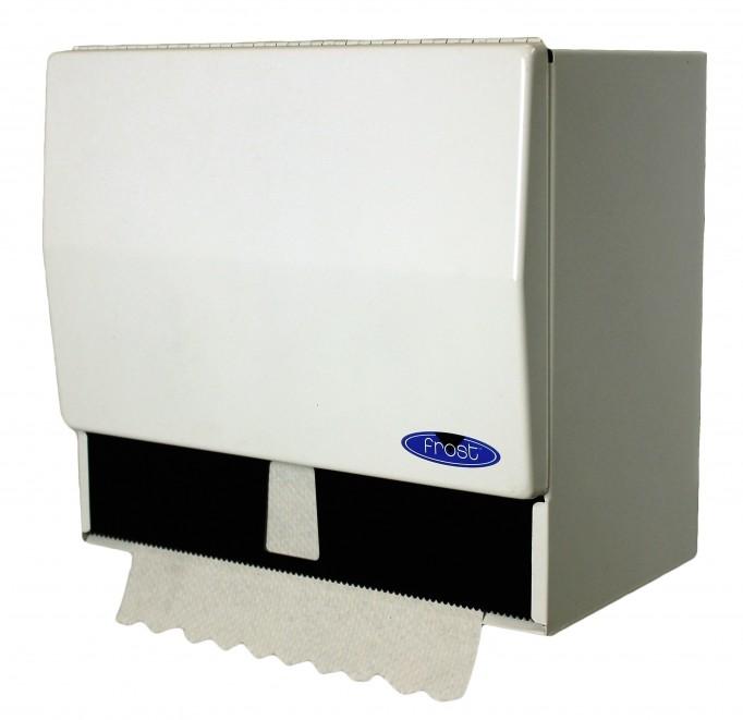 Distributrice d'essuie-mains à plis simple ou en rouleau, Frost – 101