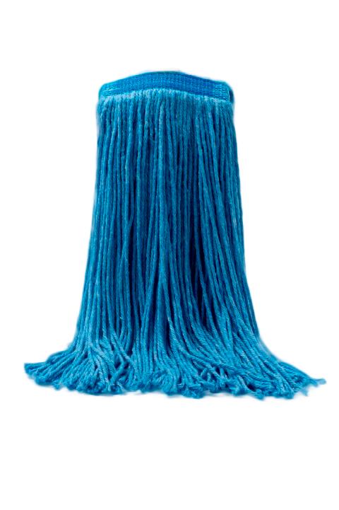 Tête de moppe régulière, bleue