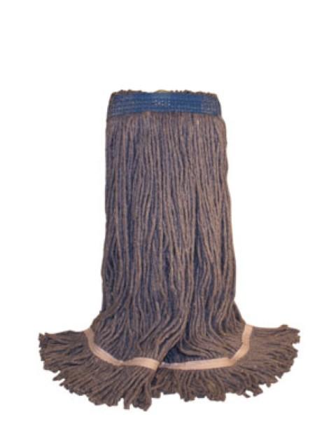 Tête de moppe bouclée, bleue