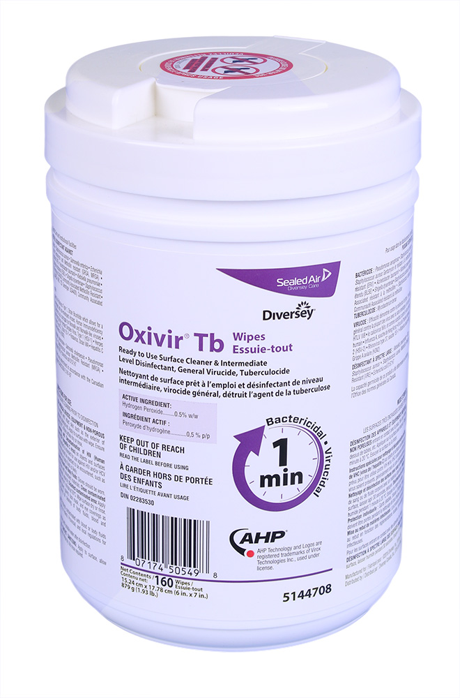 Oxivir Tb Wipes – Désinfectant