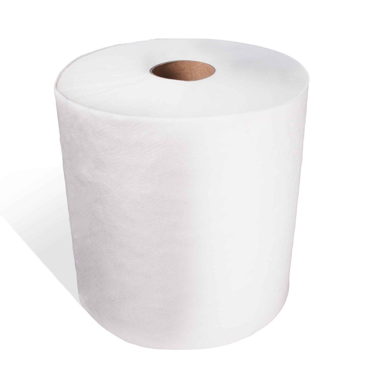 Essuie-mains blanc, économique (12 x 425′)