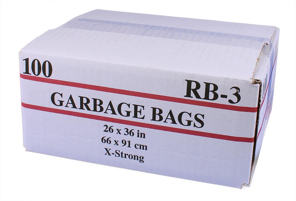 Sacs à ordures 26 par 36 extra-forts