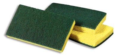 Éponges 74 jaune/ et tampon vert de 3M