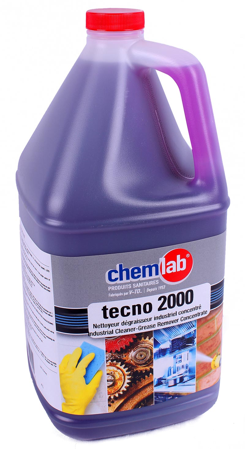 Tecno 2000 – Nettoyant dégraisseur industriel concentré sans odeur