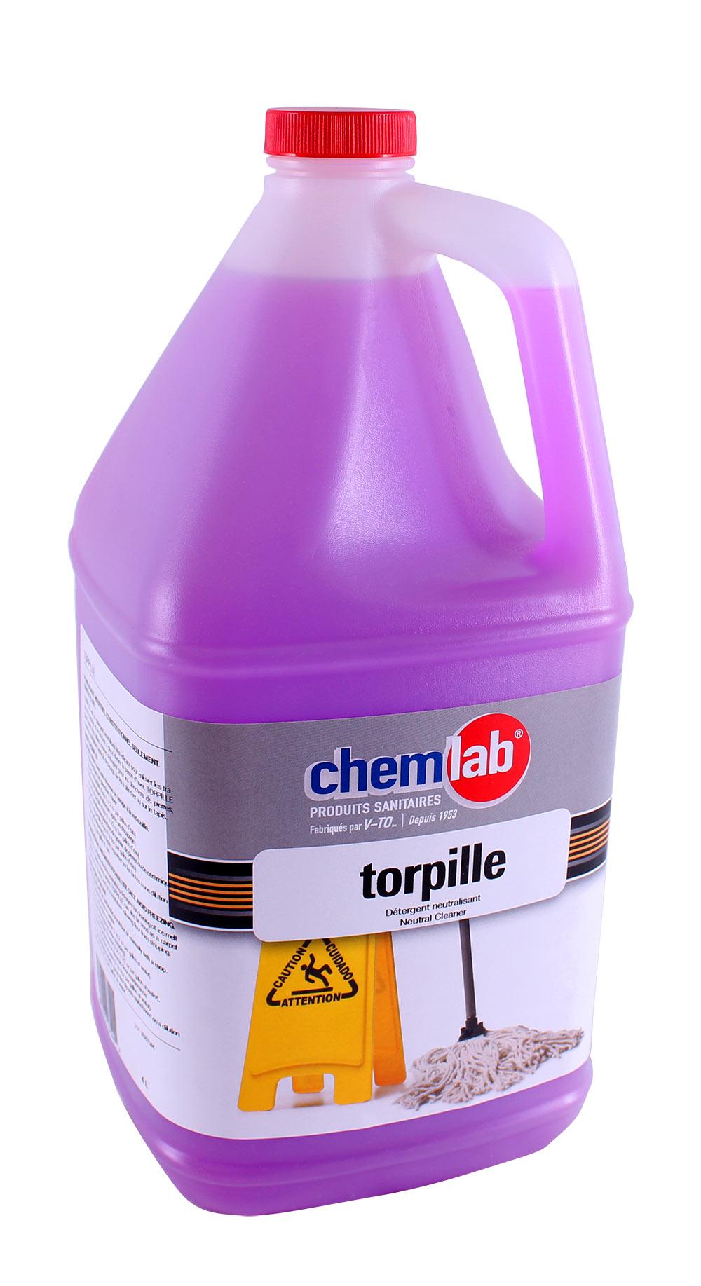 Torpille – Déloge le calcium