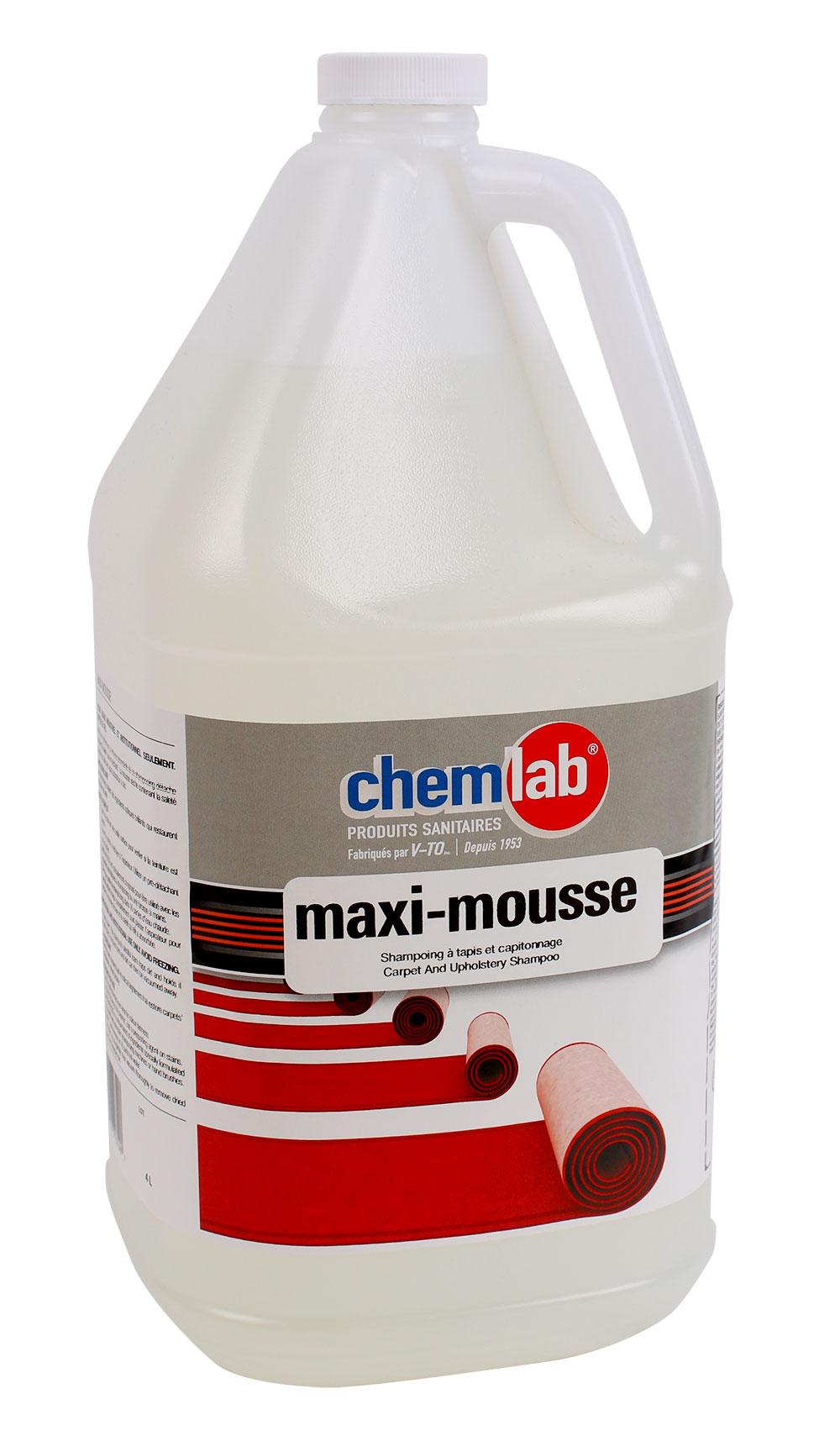 Maxi-mousse – Shampoing pour tapis