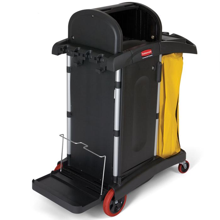 Chariot de nettoyage haute sécurité, Rubbermaid FG9T7500