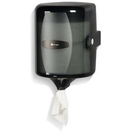 Distributrice d'essuie-mains à distribution centrale NOIR – 9410