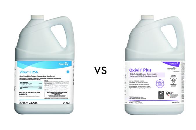 Combat entre peroxydes d'hydrogènes et ammoniums quaternaires!