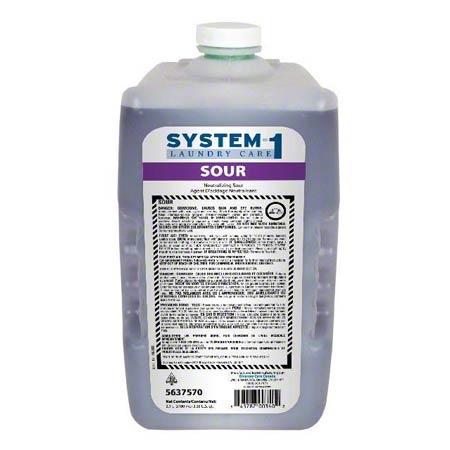 System-1 sour – Neutralisant à lessive