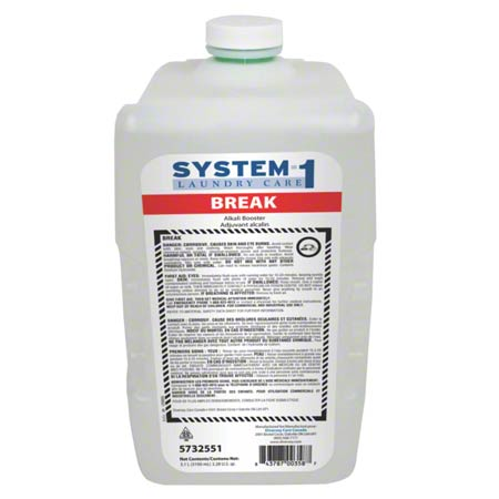 System-1 break – Adjuvant alcalin pour la lessive