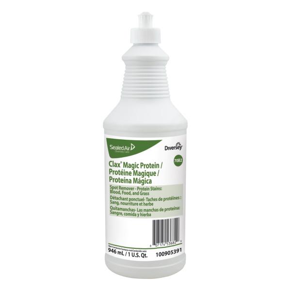 Clax magic protein – Détachant enzymatique concentré (tache contenant des protéines)