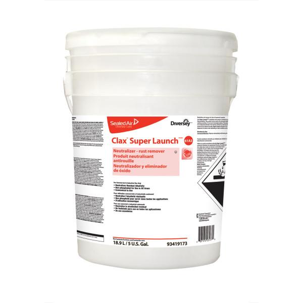 Clax super lauch – Détergent acidifié liquide concentré pour lessive